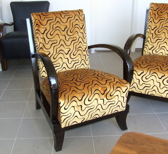 Art Deco armchair.