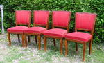 Set of 4 Art Deco Dining Chairs.
