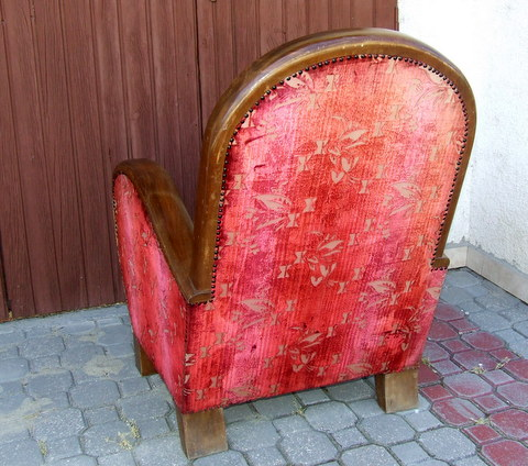 Armchair, Art Deco