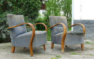 Art Deco Armchairs. For repair, restoration and re-upholstery.