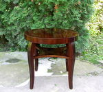 Art Deco Mahogany Occasional Coffee Table.